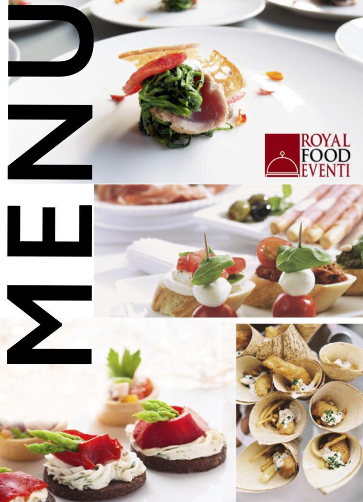 menu-catering-roma-royal food eventi
